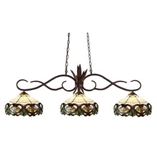 Chicago Bronze 3-light Billiard Light