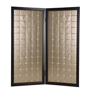 Beau Monda 2-Panel Wood Screen (China)