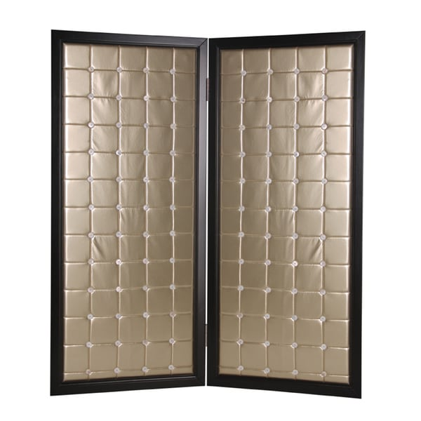 Beau Monda 2-Panel Wood Screen (China)