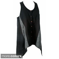 Handmade Women's Tyler Cotton Sleeveless Top (Nepal)