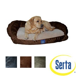 Serta PillowFill Bolster Pet Bed