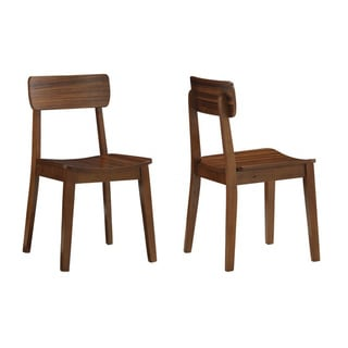 Zebra Series Hagen Hardwood Chair (Set of 2)