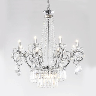 Vanessa 11-light Crystal Chrome Chandelier