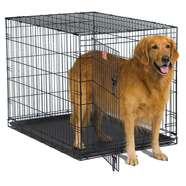 Midwest iCrate Metal Wire Dog Crate with Pan and Divider 11435846