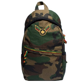 Rastafari Patch One-Shoulder Army Bag (Nepal)