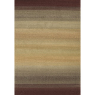 Generations Brown/ Beige Rug (2' X 3')