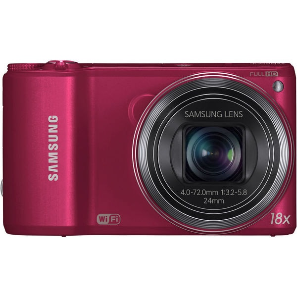 Samsung WB250F 14.2MP Red Digital Camera