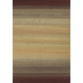 Generations Brown/ Beige Rug (9'9 X 12'2)