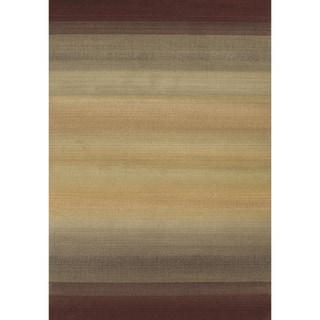 Generations Brown/ Beige Rug (9'9 X 12'2)