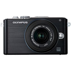 Olympus E-PL3 12.3MP Black Digital Camera with 14-42mm Lens