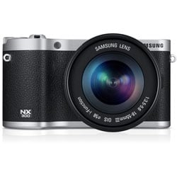 Samsung NX300 20.3MP Black Mirrorless Digital Camera with 18-55mm f3.5-5.6 OIS Lens
