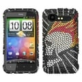 BasAcc Flame Skull/ Diamante Case for HTC ADR6350 Droid/ Incredible 2