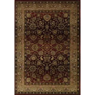 Generations Red/ Beige Oriental-pattern Rug (9'9 x 12'2)