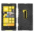 BasAcc Dots/ Black/ White/ Diamante Phone Case for Nokia 920 Lumia