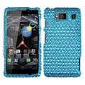 BasAcc Dots/ Blue/ White Case for Motorola XT926W Droid Razr HD