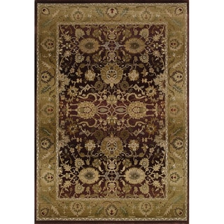 Generations Red/ Gold Rug (5'3 X 7'6)