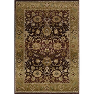 Generations Red/ Gold Rug (6'7 X 9'1)