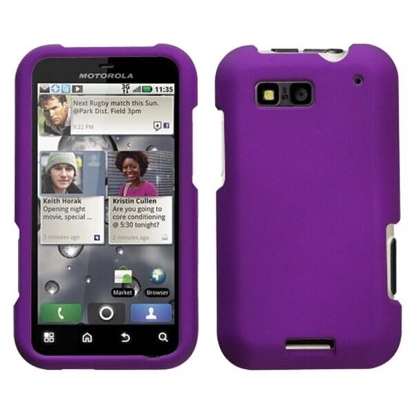 INSTEN Grape Phone Case Cover for Motorola MB525 Defy