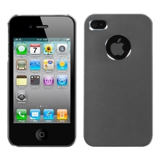 BasAcc Grey/ Cosmo Case for Apple iPhone 4S/ 4