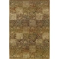Generations Green/ Gold Rug (2' X 3')