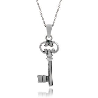 Tressa Collection Sterling Silver Key Pendant