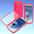 BasAcc Pink/ Frosted Book TPU Case for Samsung Galaxy S III/ S3 i9300