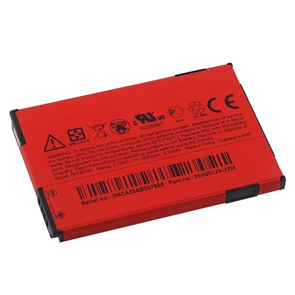 HTC Rechargeable Standard OEM Battery RHOD160/ 35H00123-25M for HTC EVO 4G (Pack of 2)