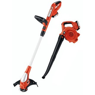 Black & Decker 2 Tools 20-Volt Lithium-Ion Cordless Trimmer/Edger/ Blower LCC220 R