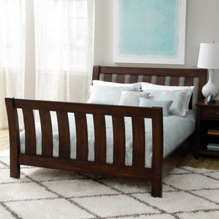 Cooper Deep Chocolate Queen Bed