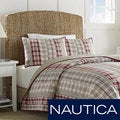Nautica Harber Hill Cotton Reversible Quilt (Shams Sold Separately)