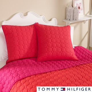 Tommy Hilfiger Preppy Ikat Reversible Coverlet