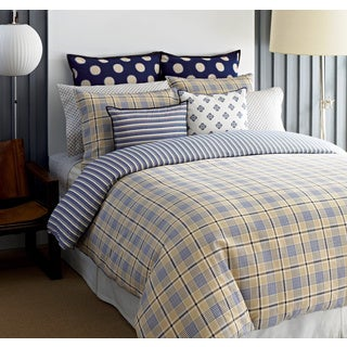 Tommy Hilfiger Spectator Plaid 3-piece Cotton Comforter Set