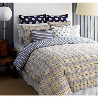 Tommy Hilfiger Spectator Plaid 3-piece Cotton Comforter Set (Euro Shams Sold Separately)