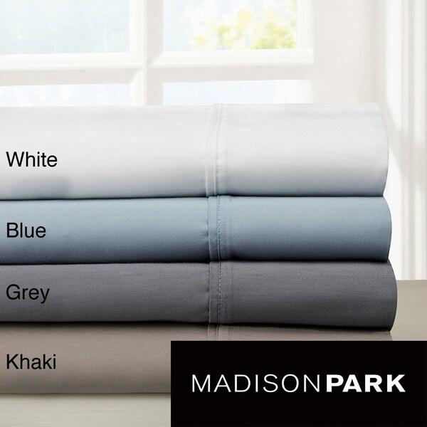 Madison Park 800 Thead Count Cotton Blend Sateen Sheet Set