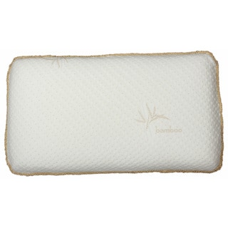 Odor-absorbing Ventilated Memory Foam Pillow with Rayon from Bamboo Cover