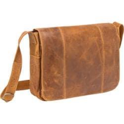 LeDonne Men's Leather Messenger Bag