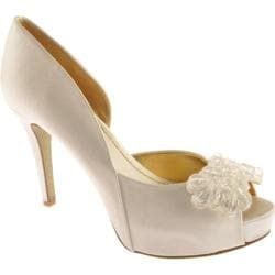 Women's Nine West Cassedi 2 White Satin