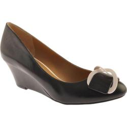 Women's Nine West Mirabella Black Leather