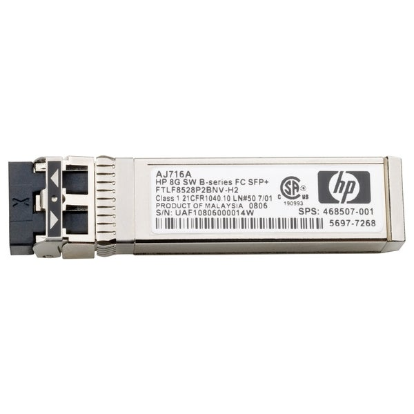 HP MSA 2040 16Gb Short Wave Fibre Channel SFP+ 4-Pack Transceiver