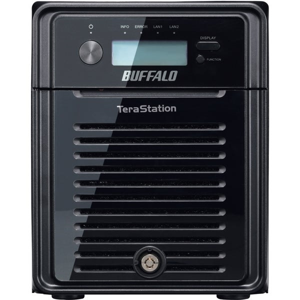 BUFFALO TeraStation 3400 4-Drive 4 TB Desktop NAS for Small Business