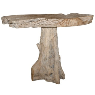 Natura White Console Table