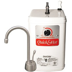Waste King Chrome Hot Water Tank/ Faucet Combo