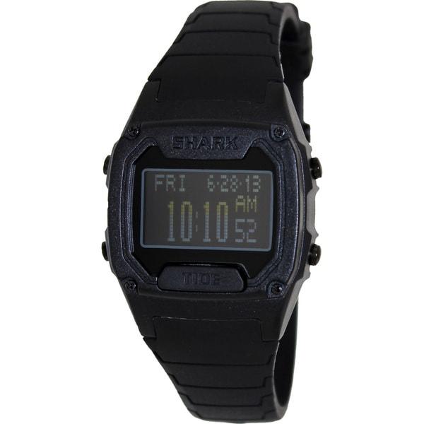 FreeStyle Men's 'Shark 101814' Black Polyurethane Digital Quartz Watch
