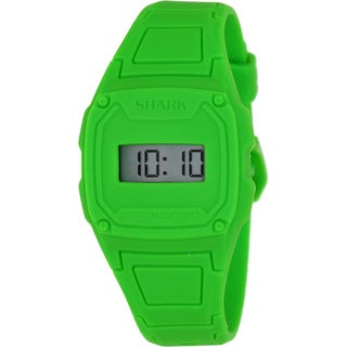 Freestyle Men's 'Shark' Green Silicone Digital Watch