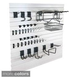 GlideRite Slatwall Garage Organization Garden Kit