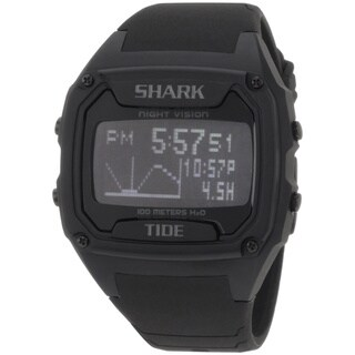 Freestyle Men's 'Shark 101050' Black Silicone Digital Quartz Watch