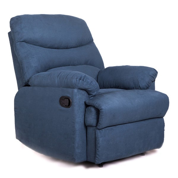 Tucker Navy Recliner