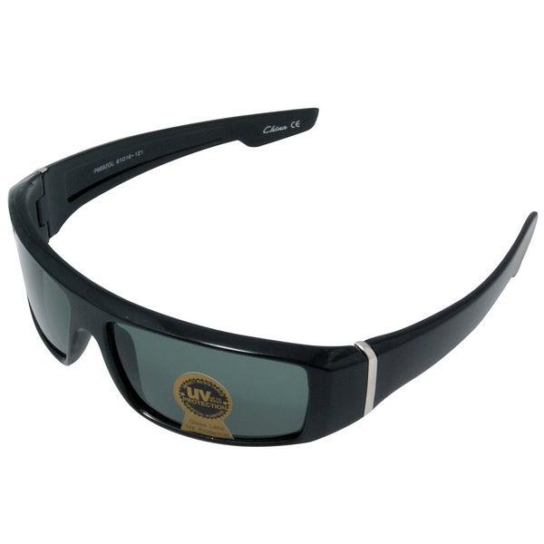Sleuth Men's Black Sport Sunglasses