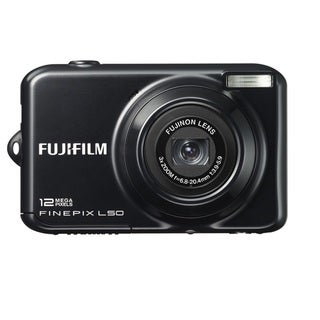 FujiFilm FinePix L50 12MP Black Digital Camera