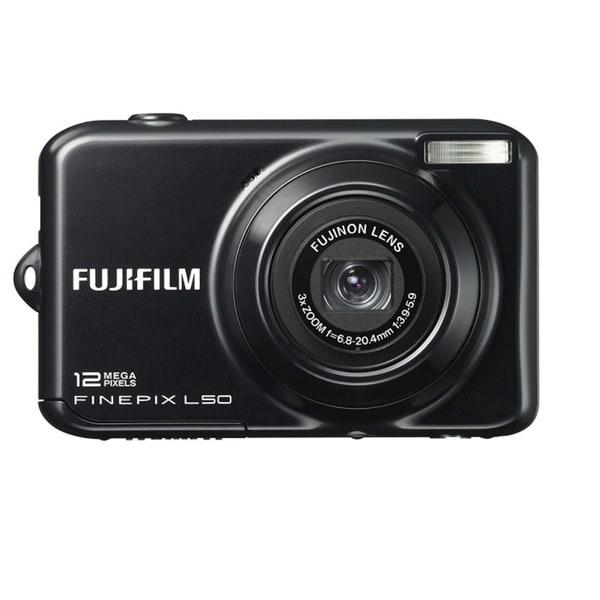 FujiFilm FinePix L50 12MP Black Digital Camera